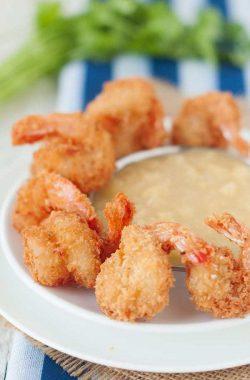 Paleo Coconut Shrimp