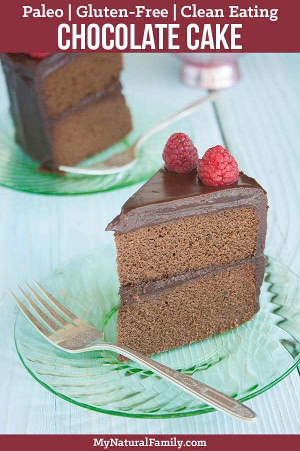 The Very Best Ever Paleo Chocolate Cake Recipe {Gluten-Free, Clean Eating}
