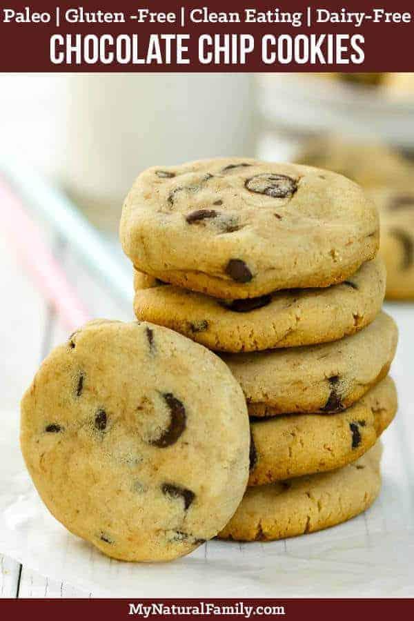 Best Paleo Chocolate Chip Cookies Recipe - Soft-Batch {Paleo, Gluten-Free, Clean Eating}
