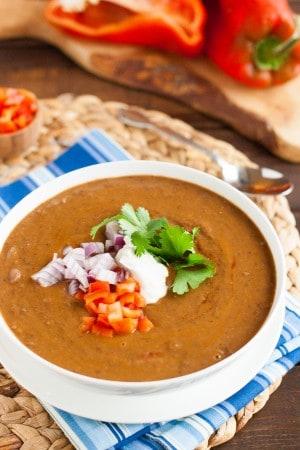 Best Vegan Black Bean Soup Recipe