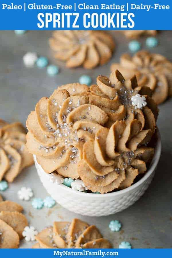 Frozen-Inspired Paleo Spritz Cookies Recipe