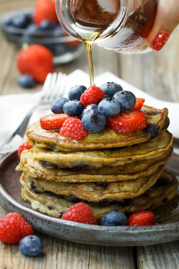 Chickpea Flour Pancakes Recipe
