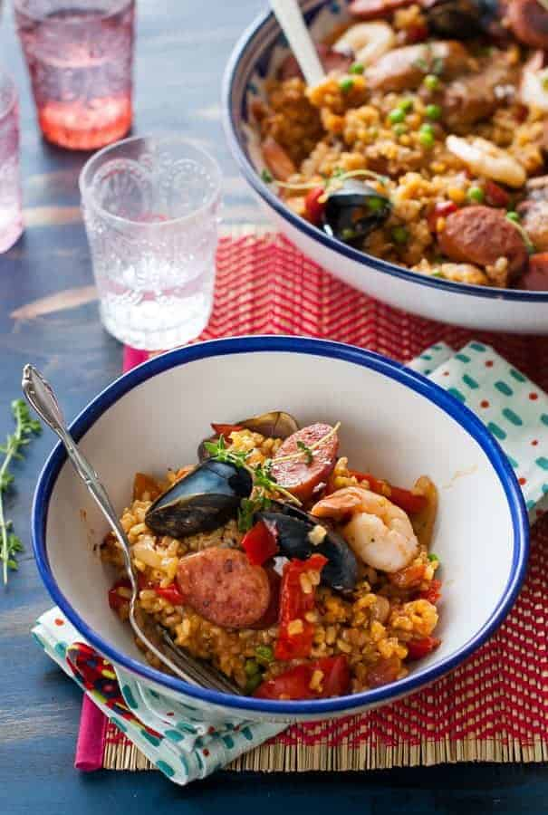 Clean Eating Paella