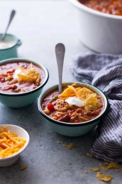 Easy 30 Minute Gluten-Free Taco Soup Recipe
