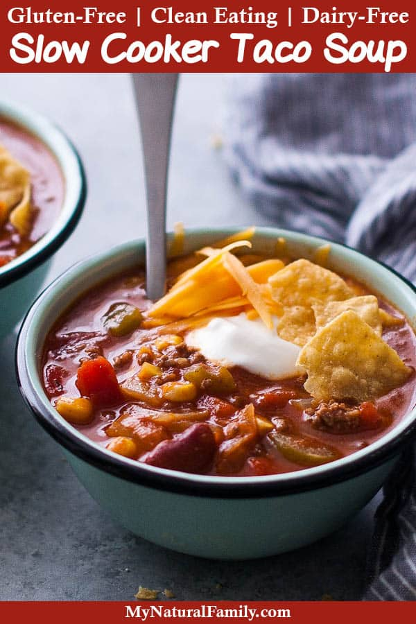 Easy Gluten-Free Taco Soup Recipe with Ranch Dressing 1