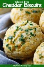 Gluten-Free Cheddar Biscuits Recipe