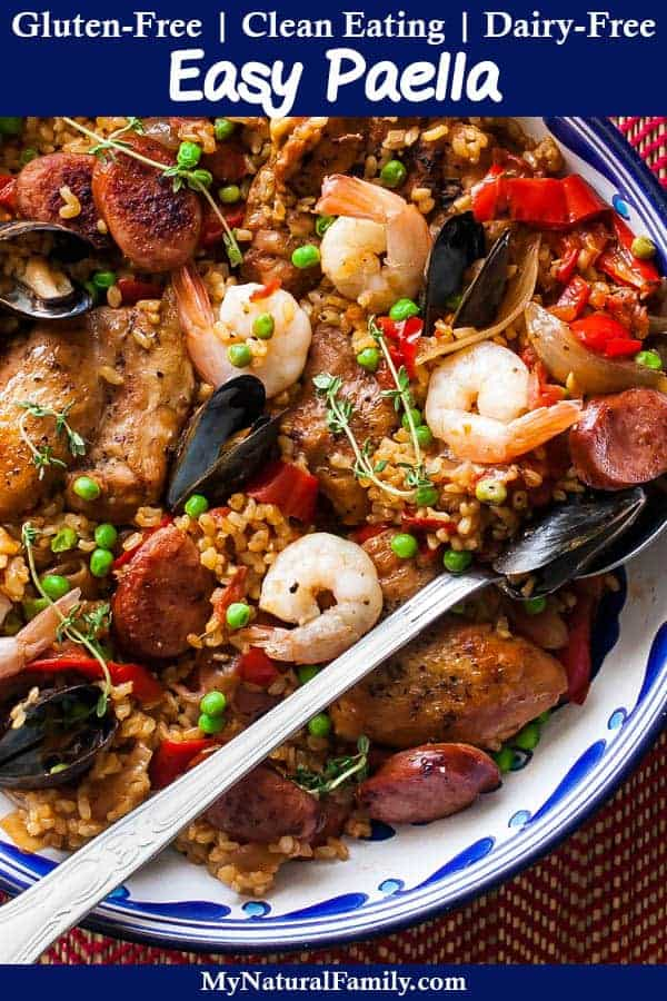 Gluten-Free Healthy Paella Recipe