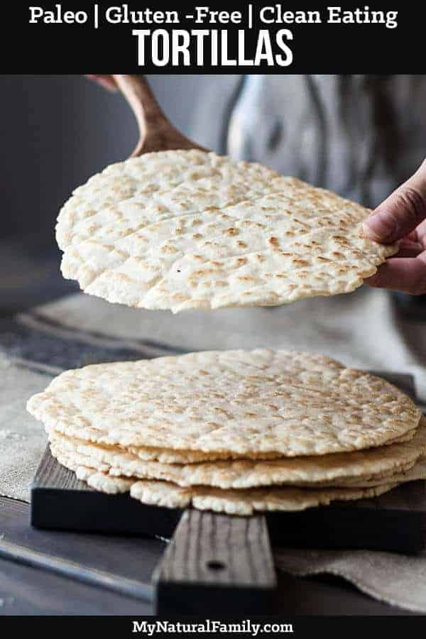 The Best Ever Paleo Tortillas Recipe