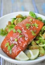 30 Minute, Easy Miso Salmon Recipe with 5 Ingredients {Gluten-Free}