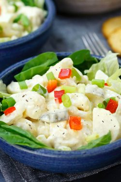 Cauliflower Potato Salad Recipe