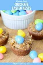 Gluten-Free Chocolate Easter Nests Recipe