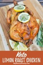 Keto Roast Chicken Recipe