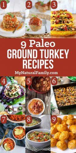 Paleo Ground Turkey Recipes