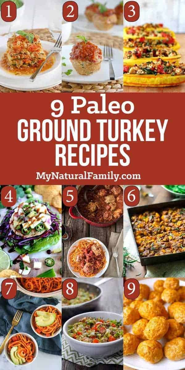 Paleo Ground Turkey Recipes