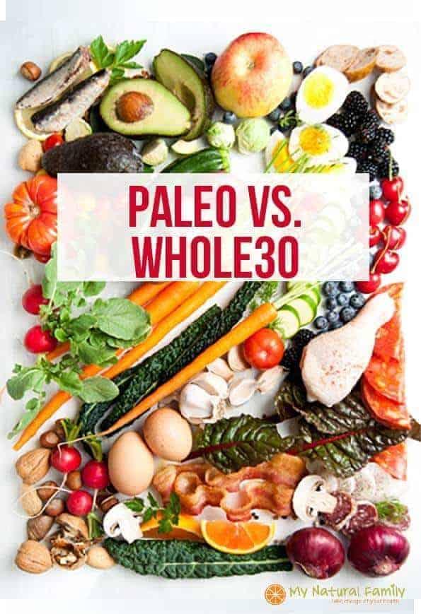 Paleo vs Whole30