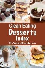 Clean Eating Desserts Index