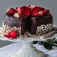 Flourless Gluten-Free Chocolate Cake