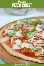 The Best Paleo Pizza Crust Recipe {Gluten-Free, Dairy-free, Clean Eating}
