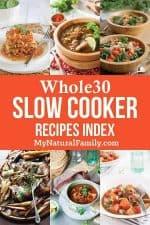 Whole 30 Crockpot Recipes Index