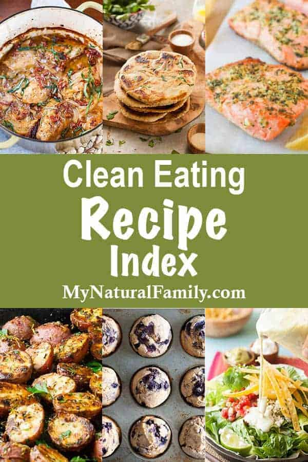 Clean Eating Recipe Index