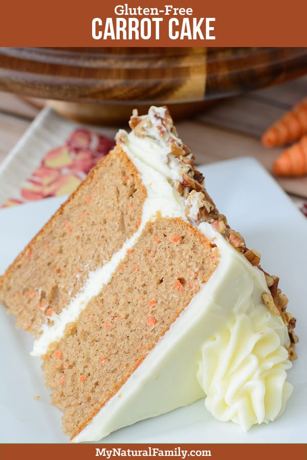 Terrific Gluten Free Carrot Cake Recipe With Frosting My Natural Family Birthday Cards Printable Giouspongecafe Filternl