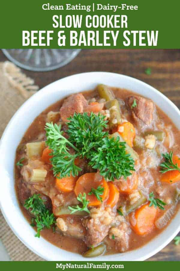 Slow Cooker Beef and Barley Stew Recipe for a Healthy, Comforting Meal