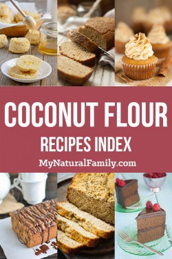 Coconut Flour Recipes Index