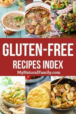 Gluten-Free Recipe Index