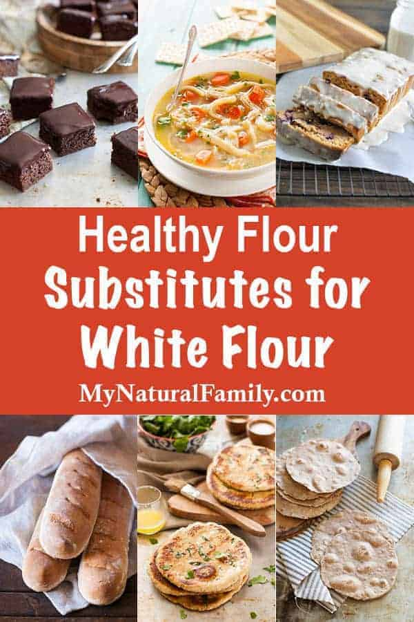 Healthy Flour Substitutes for White Flour