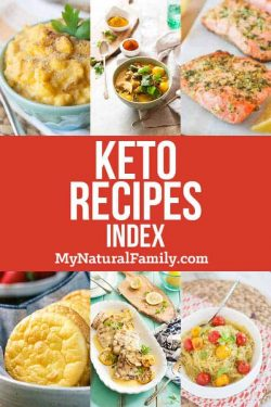 Keto Recipe Index