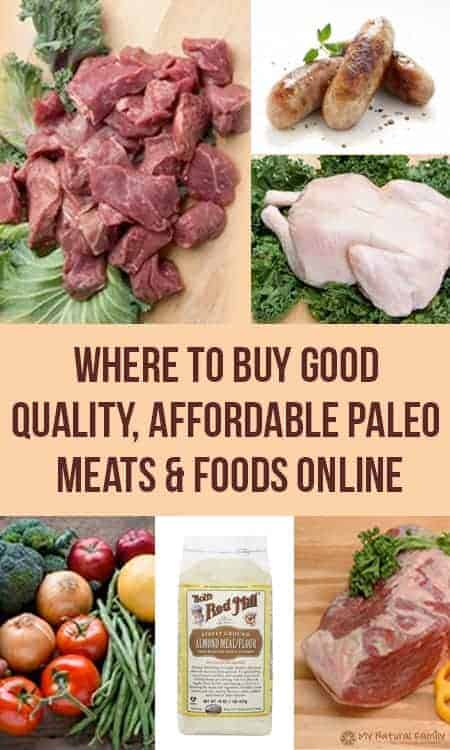 Where to Buy Paleo Products Online - (Meat, Staples) - My