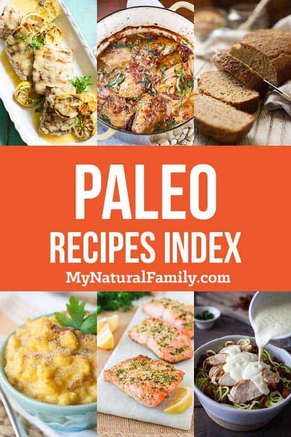 Paleo Recipes Index