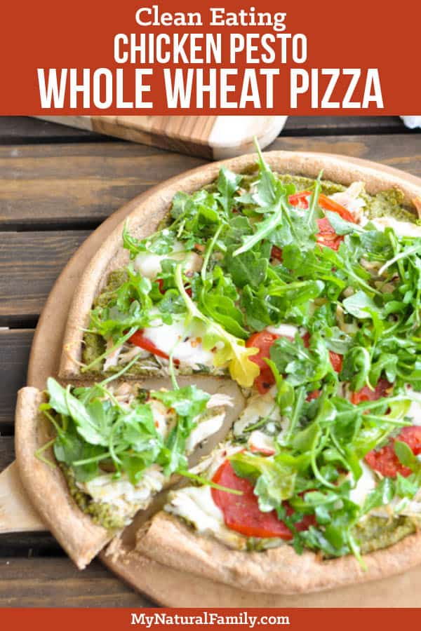 Chicken Pesto Whole Wheat Pizza Dough Recipe