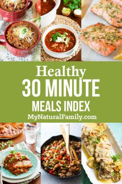 Easy Healthy Meals You Can Make in Under 30 Minutes Index