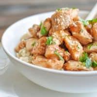 Healthy Honey Garlic Chicken