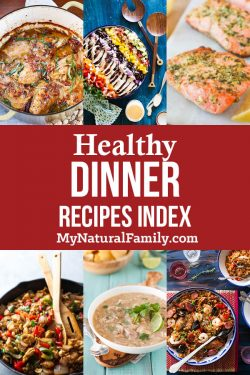 Healthy Dinner Recipes Index