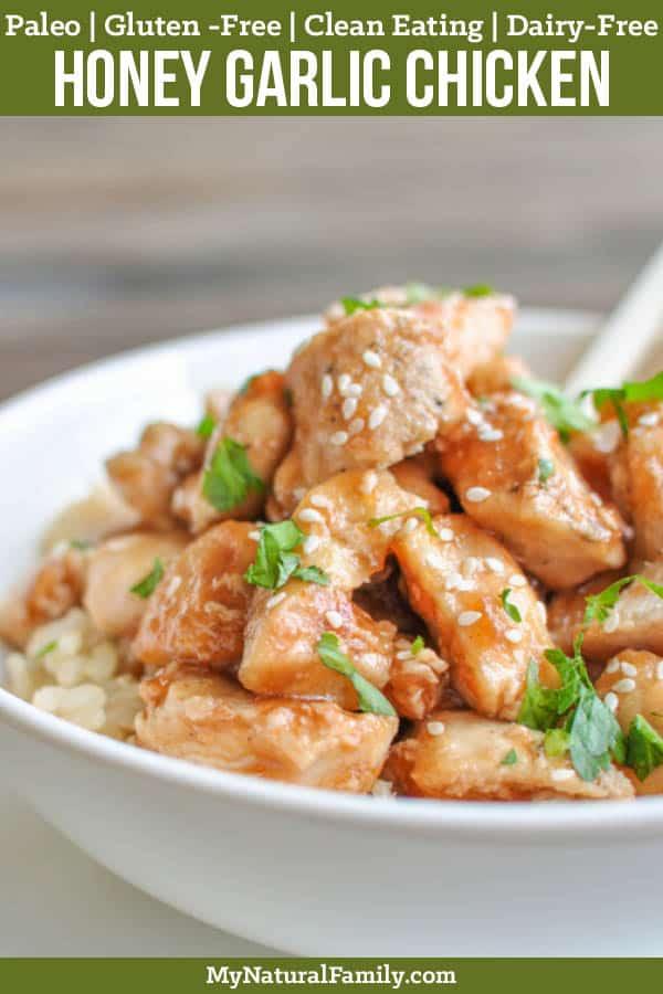 Healthy Honey Garlic Chicken Recipe