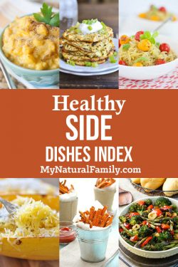 Healthy Side Dishes Index