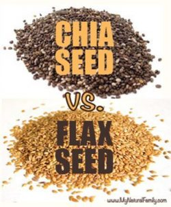 Chia Seeds vs Flax Seeds