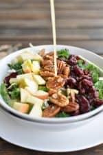 Cranberry Apple Pecan Salad Recipe
