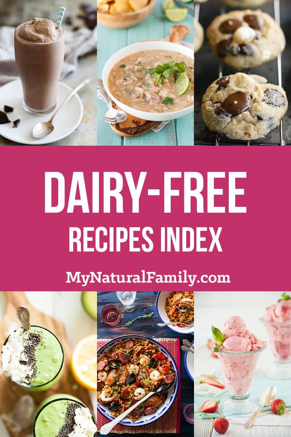 Dairy-Free Recipes Index