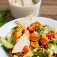 Roasted Sweet Potato Salsa RecipeRoasted Sweet Potato Salsa Recipe