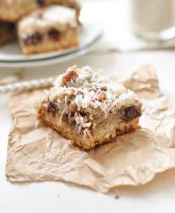Paleo Chocolate Coconut Bars Recipe