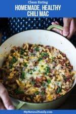 Homemade, Healthy Chili Mac Recipe
