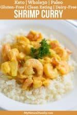 30-Minute Shrimp Keto Curry Recipe