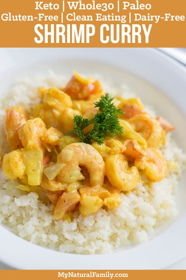 30-Minute Shrimp Keto Curry Recipe