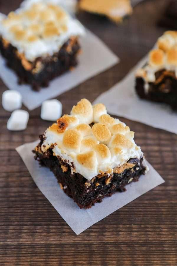 Gluten-Free Chocolate Peanut Butter Brownies