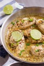 Keto Coconut Lime Chicken Recipe