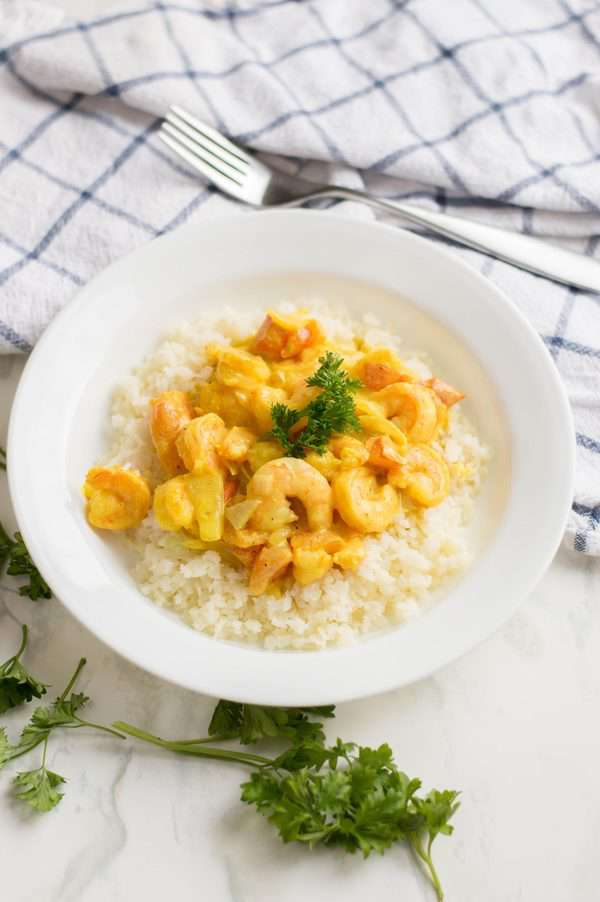 Shrimp Keto Curry