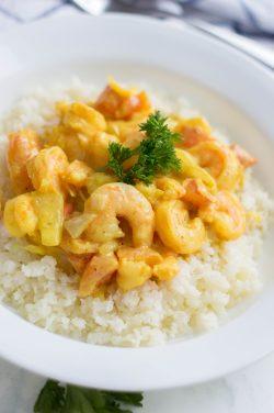 Shrimp Keto Curry